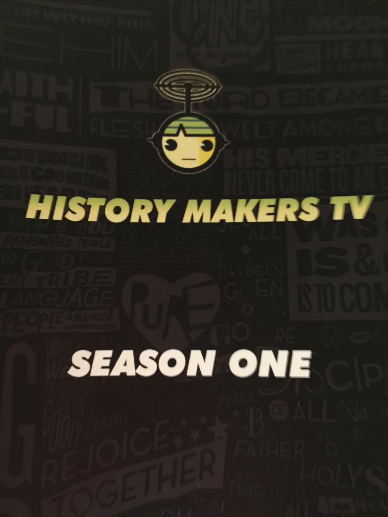 History Makers TV Season One - Cover 1